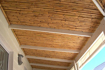 Spanish reed ceiling